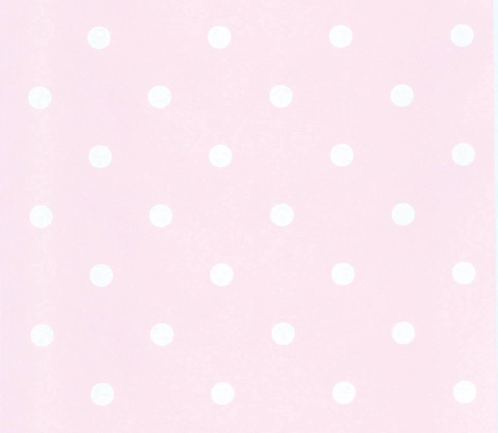 Teppich rosa weiß  Annette Frank Tapete Tapete rosa-weiss - www.romy-kindermoebel.de