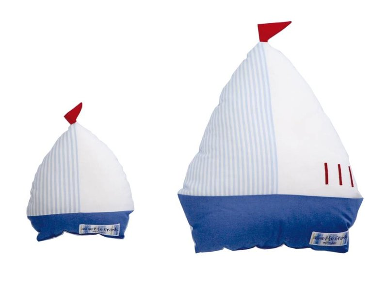 Annette Frank Kuschelfigur Segelboot