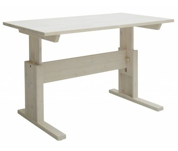 LIFETIME Kinderschreibtisch 120 x 67 whitewash
