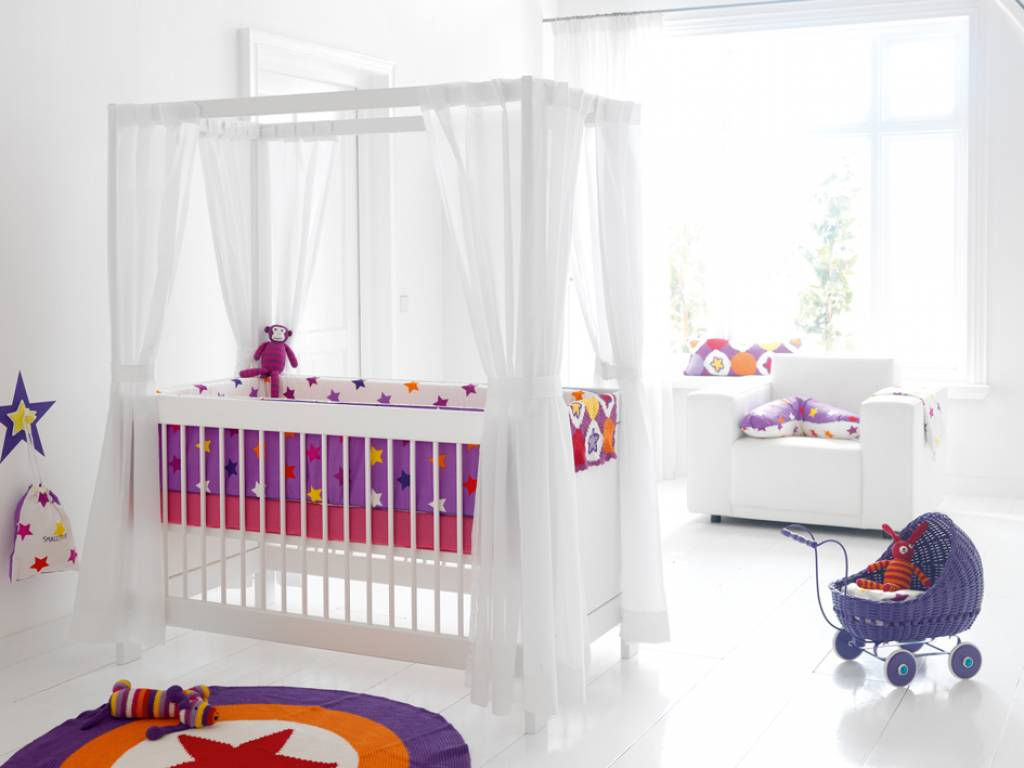 babybett dekoration deko ideen. Black Bedroom Furniture Sets. Home Design Ideas