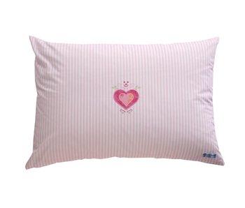 Annette Frank Spielkissen Herz rosa 50 x 70 cm