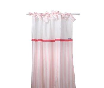 Annette Frank Vorhangschal Maxistreifen rosa 150 x 250 cm