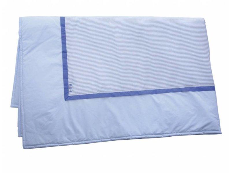 Annette Frank Tagesdecke hellblau 130 x 210 cm