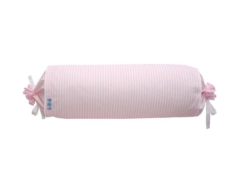Annette Frank Sofarolle Midistreifen rosa 70 cm