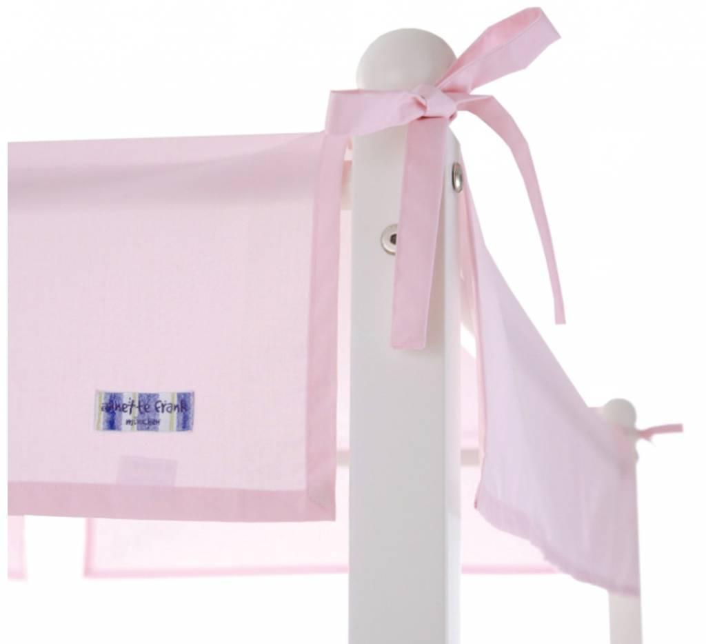 betthimmel baldachin rosa 70 x 140 cm. Black Bedroom Furniture Sets. Home Design Ideas