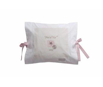 Annette Frank Kissenbezug Seestern rosa 35 x 40 cm