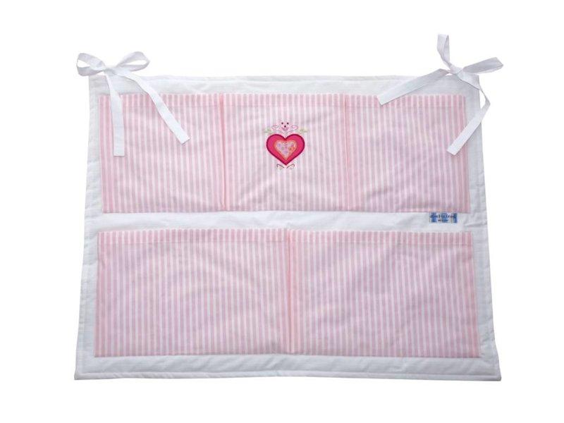 Annette Frank Utensilo Herz rosa 55 x 70 cm