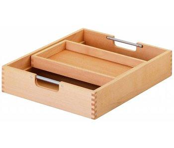 Haba Matti Schubkasten mit Einsatz für Rollcontainer natur