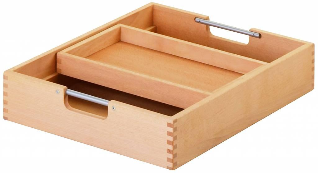 haba matti schubkasten mit einsatz f r rollcontainer natur. Black Bedroom Furniture Sets. Home Design Ideas