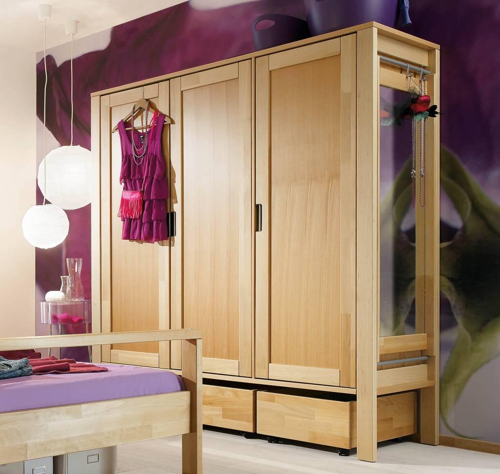 haba matti schrank 3 t rig buche. Black Bedroom Furniture Sets. Home Design Ideas