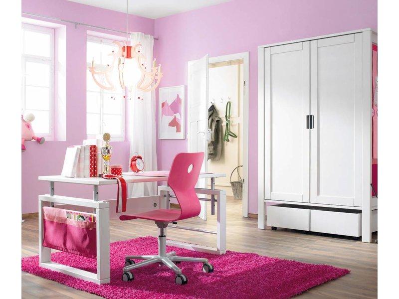 haba matti schreibtisch 120 x 70 cm weiss. Black Bedroom Furniture Sets. Home Design Ideas