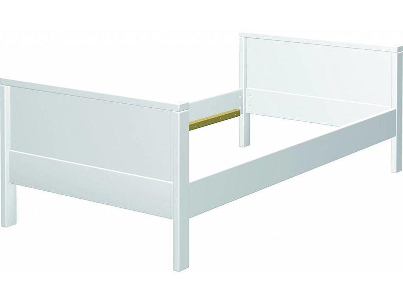 Metallbett weiß 100x200  Bett Weis 100x200 Mit Bettkasten: Betten kaufen.