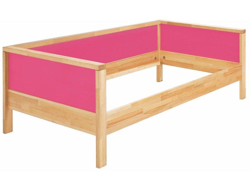 haba matti bett matti mit bogen buche rosa. Black Bedroom Furniture Sets. Home Design Ideas