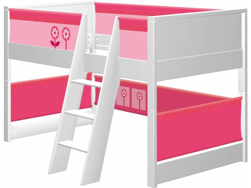 haba matti spielbett matti buche wei rosa. Black Bedroom Furniture Sets. Home Design Ideas