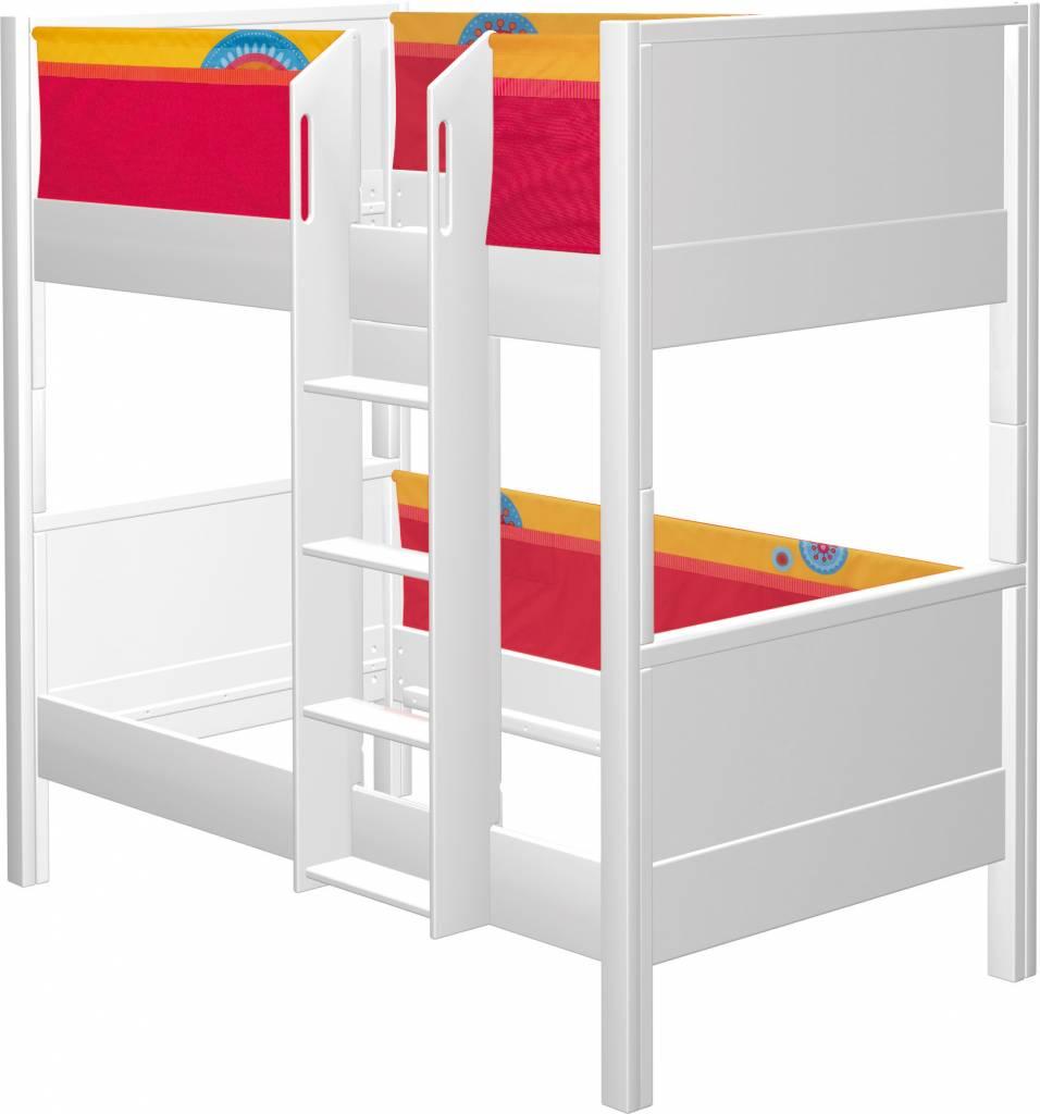 haba matti etagenbett matti buche wei rot. Black Bedroom Furniture Sets. Home Design Ideas