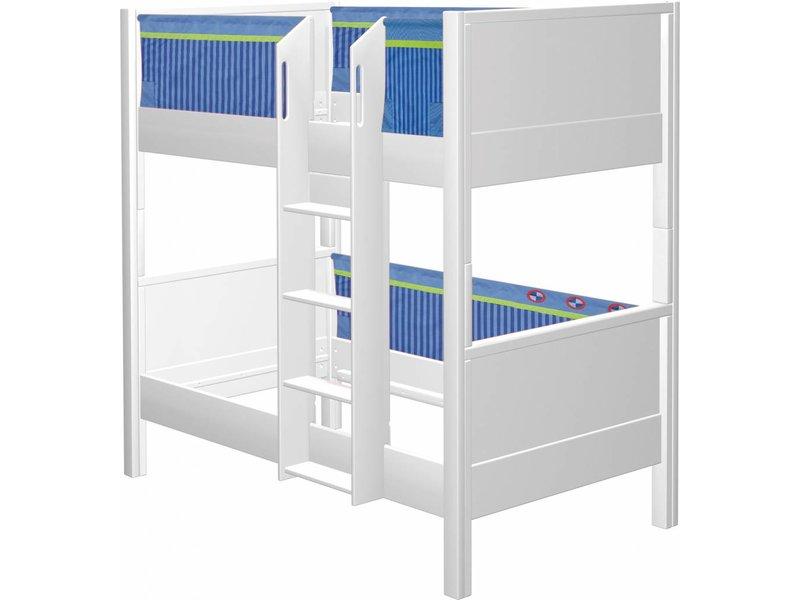 Etagenbett Haba : Haba matti etagenbett buche weiß blau romy