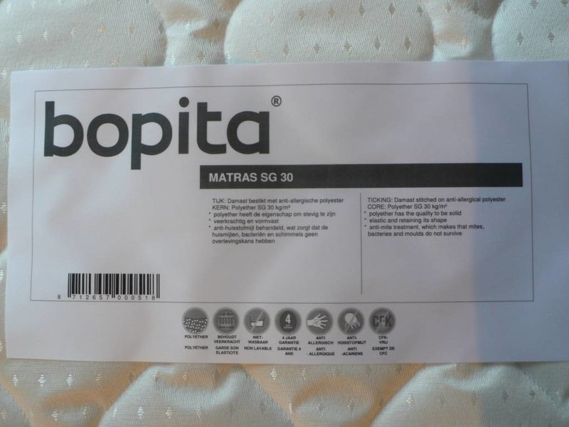 Bopita Matratze HR40 90 x 195 cm