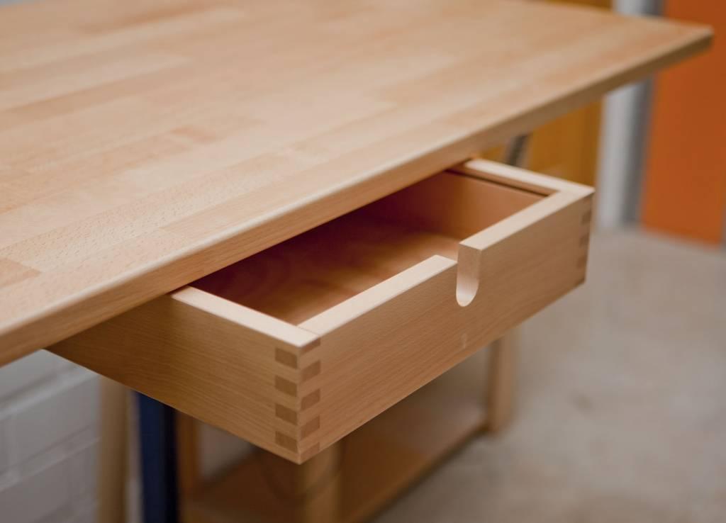schublade f r schreibtisch matti wei lackiert. Black Bedroom Furniture Sets. Home Design Ideas