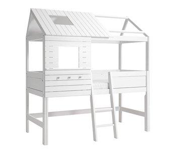 LIFETIME Hütte Silversparkle weiß