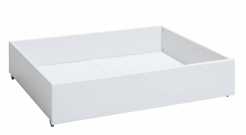 lifetime bettkasten klein f r das basisbett in wei. Black Bedroom Furniture Sets. Home Design Ideas