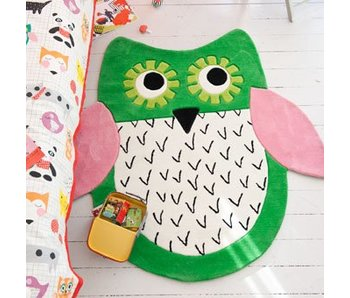 Designers Guild Teppich Little Owl Emerald