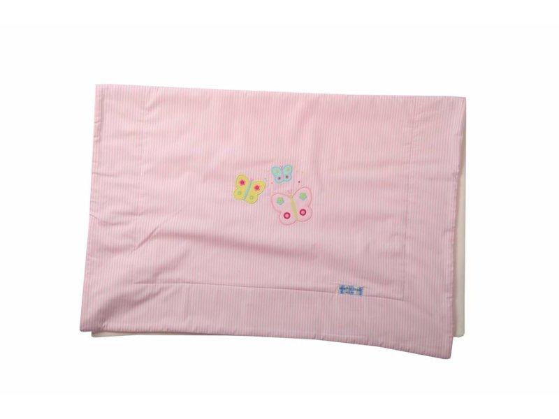 Annette Frank Kuscheldecke Schmetterling rosa 75 x 105 cm