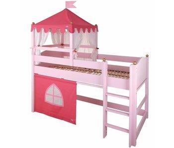 Annette Frank Spielbett Schloss rosa 90 x 200