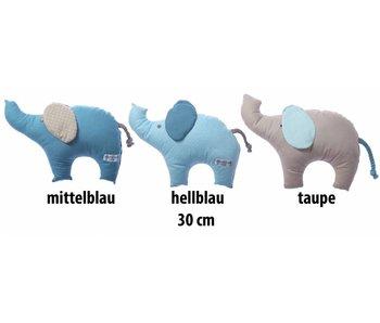 Annette Frank Kuschelfigur Elefant blau