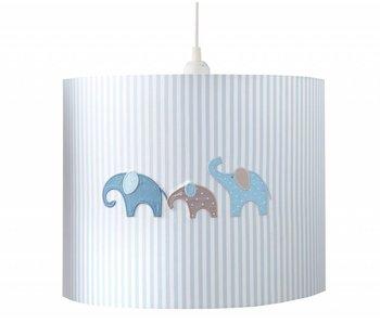 Annette Frank Hängelampe Elefant blau