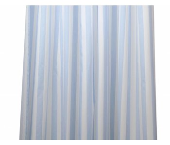 Annette Frank Vorhang Jugendhochbett Maxistreifen hellblau 120 x 113 cm