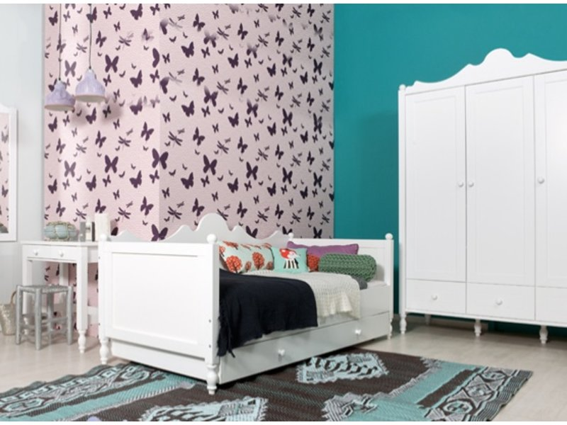 bopita bett schublade belle 90 x 200. Black Bedroom Furniture Sets. Home Design Ideas