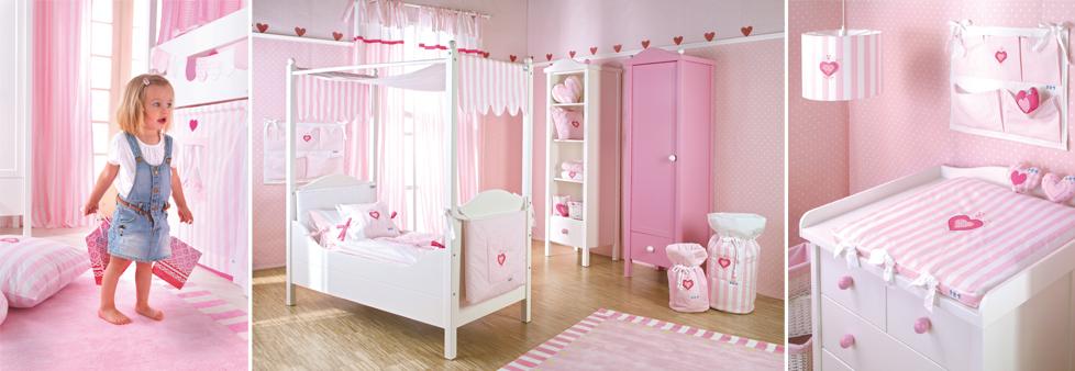 Baby-/Kinderzimmer Herz - www.romy-kindermoebel.de | {Kinderzimmer de 18}
