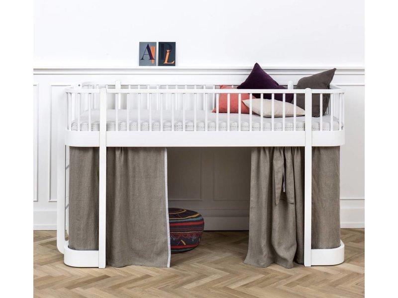halbhohes bett wood von oliver furniture. Black Bedroom Furniture Sets. Home Design Ideas