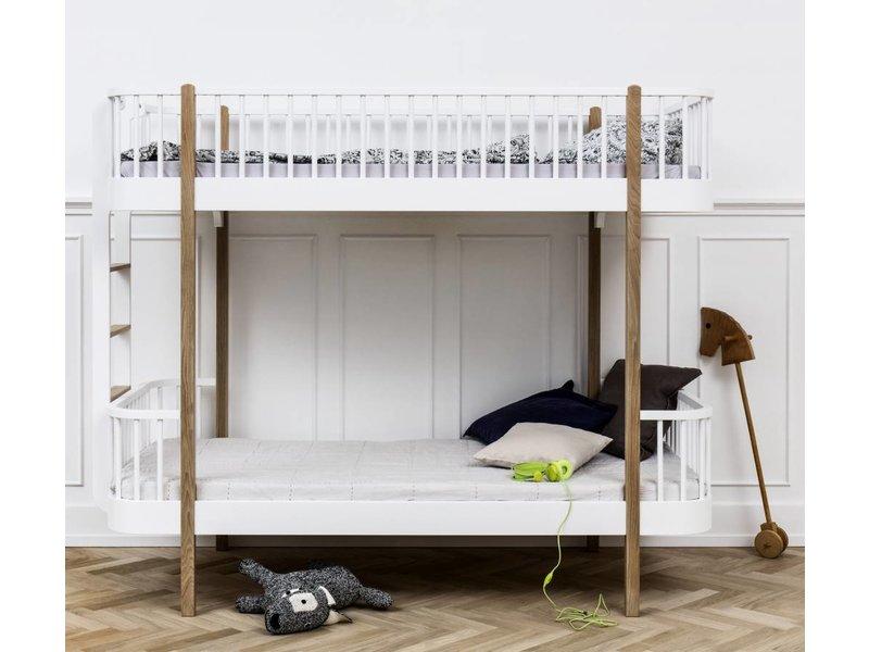 Etagenbett Oliver : Oliver furniture etagenbett gerade leiter weiss romy