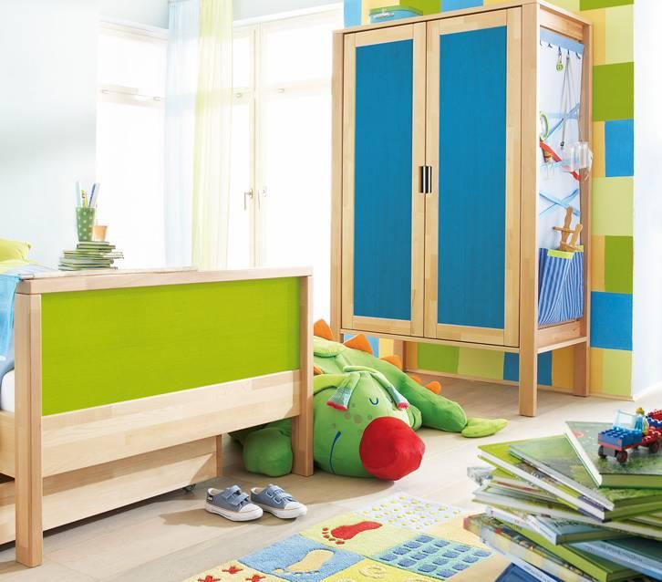 haba matti kleiderschrank 2 trg. Black Bedroom Furniture Sets. Home Design Ideas