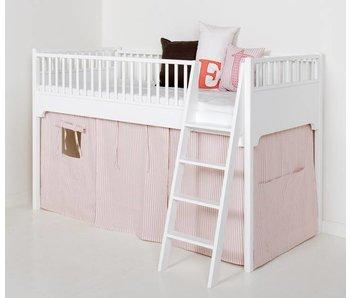 Oliver Furniture Vorhang Set rosa gestreift