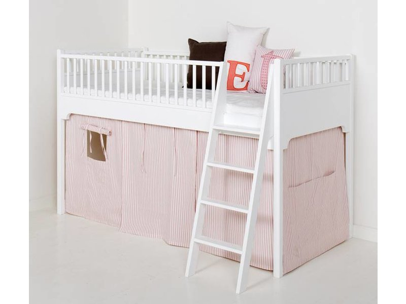 Oliver Furniture Vorhang Set rosa gestreift