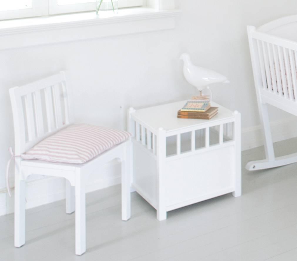 Oliver Furniture Nachttisch Cube weiß - www.romy-kindermoebel.de