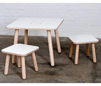 Pure Position Tisch 80 x 80 cm, weiß