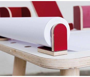 Pure Position Zeichenrolle mit Aufnahme rot