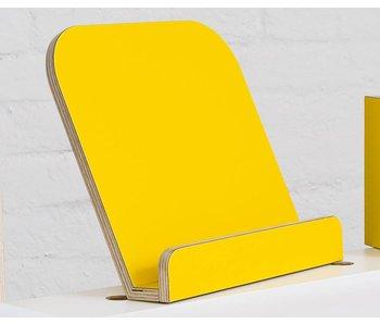 Pure Position Buchaufsteller T4 gelb