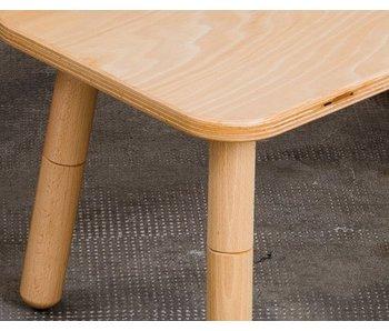 Pure Position Tisch 80 x 80 cm, Buche