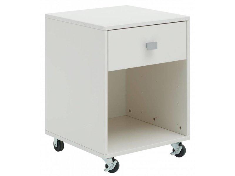 lifetime schubladenelement auf rollen wei. Black Bedroom Furniture Sets. Home Design Ideas