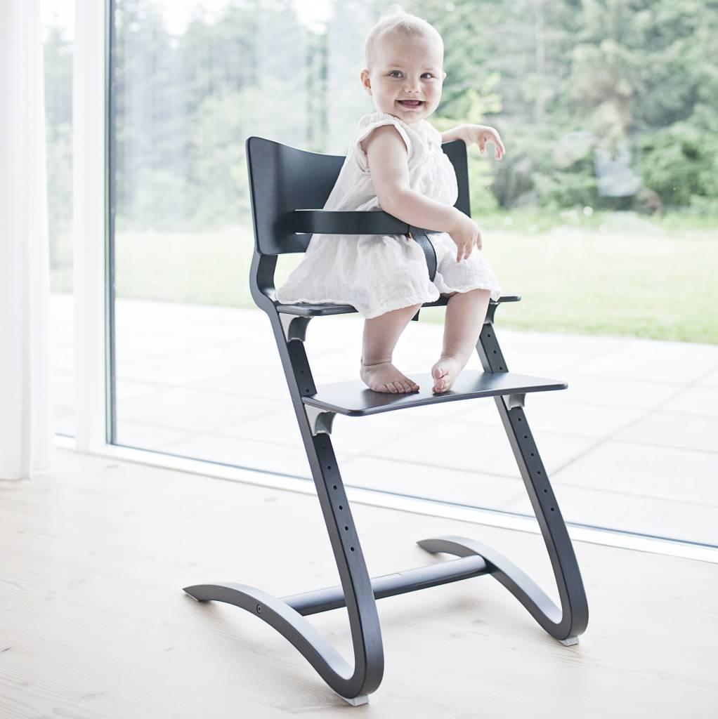 leander hochstuhl set aktion von leander schwarz. Black Bedroom Furniture Sets. Home Design Ideas