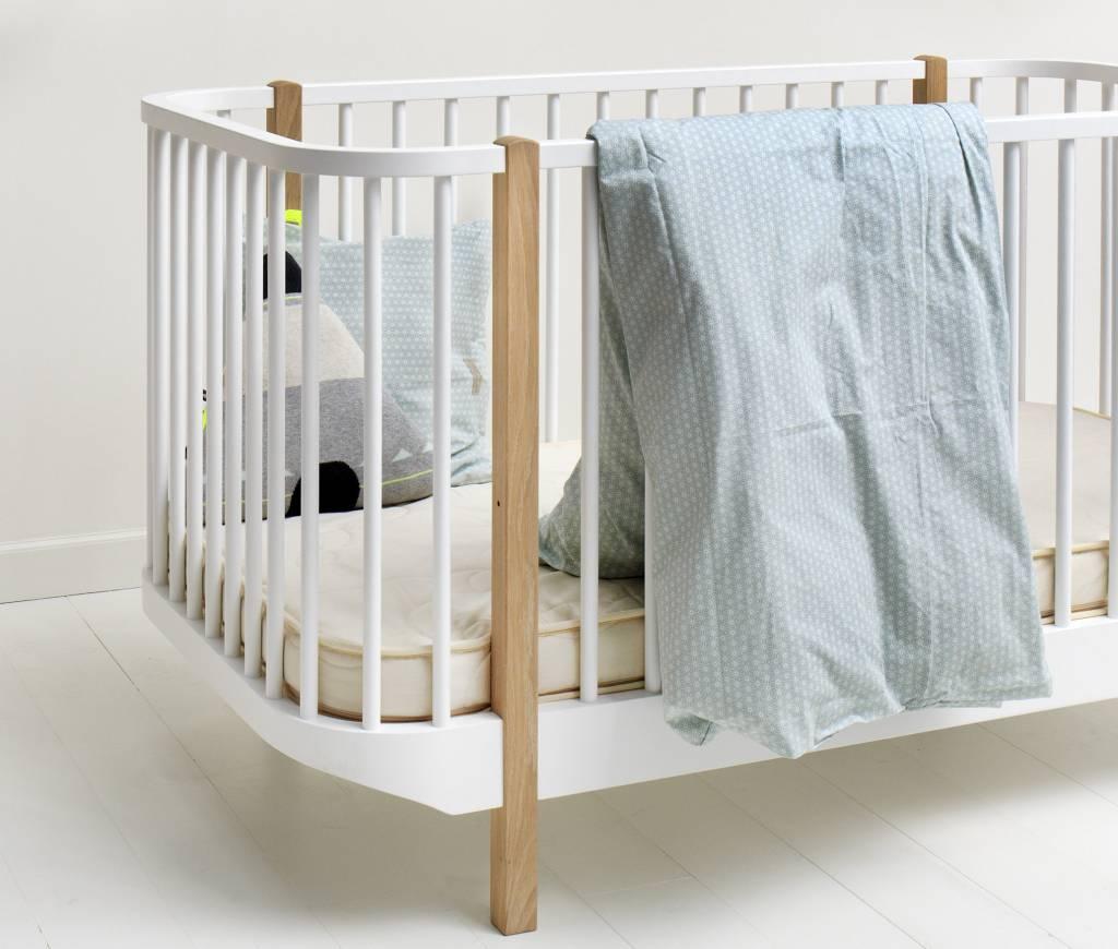 oliver furniture matratze wood collection babybett. Black Bedroom Furniture Sets. Home Design Ideas