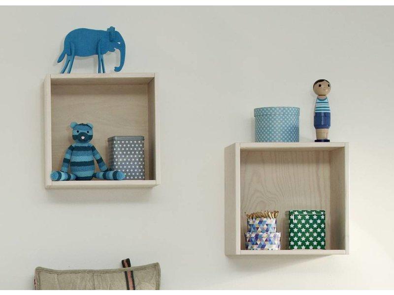 lifetime kiste f r regal wand 37 x 37 cm whitewash. Black Bedroom Furniture Sets. Home Design Ideas