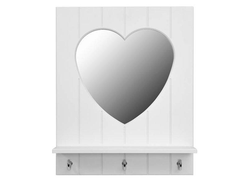 LIFETIME Spiegel Silversparkle in weiß