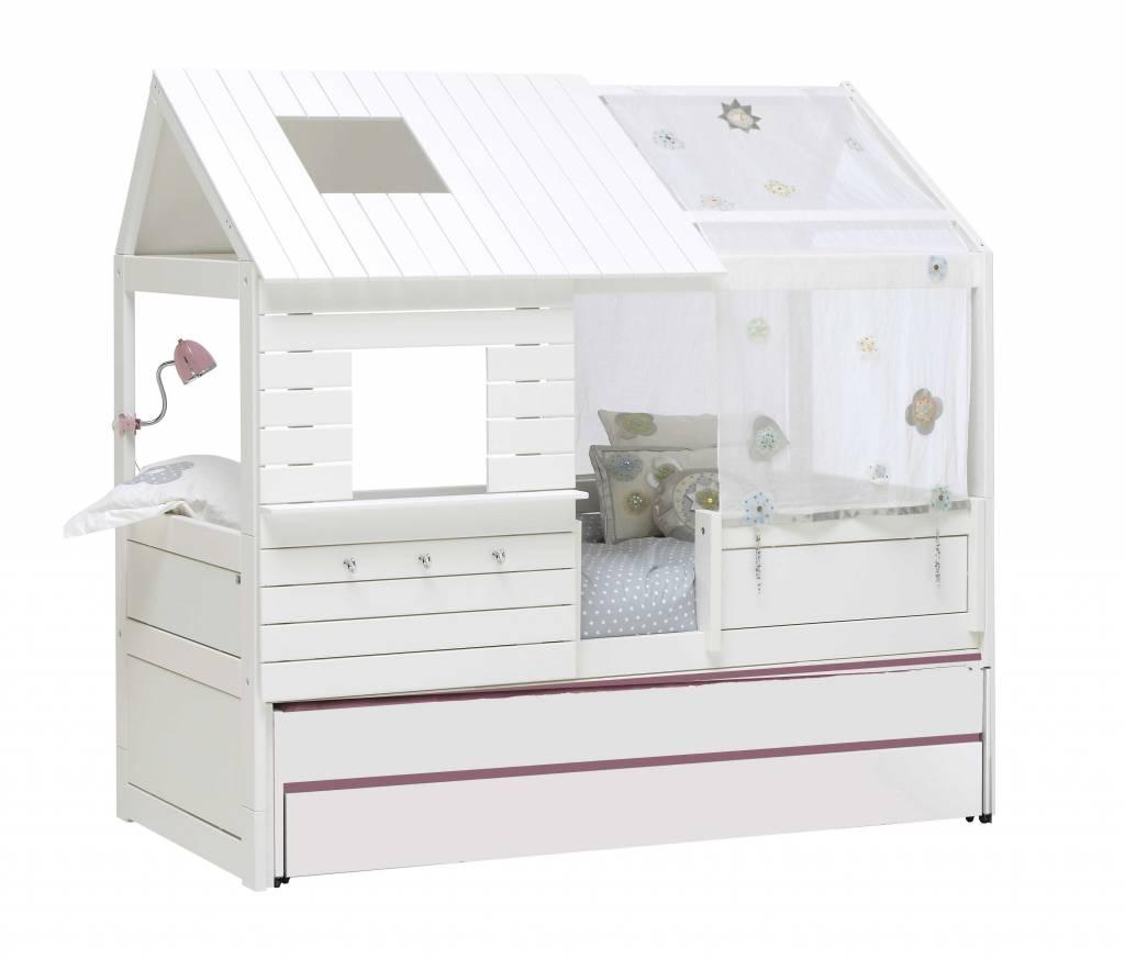 lifetime kojenbett silversparkle in wei. Black Bedroom Furniture Sets. Home Design Ideas