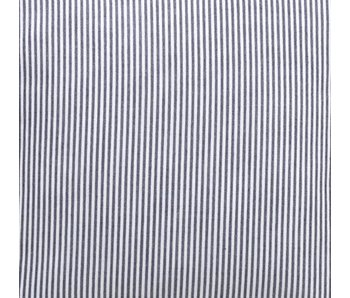Oliver Furniture Dekostoff dunkelblaue Streifen