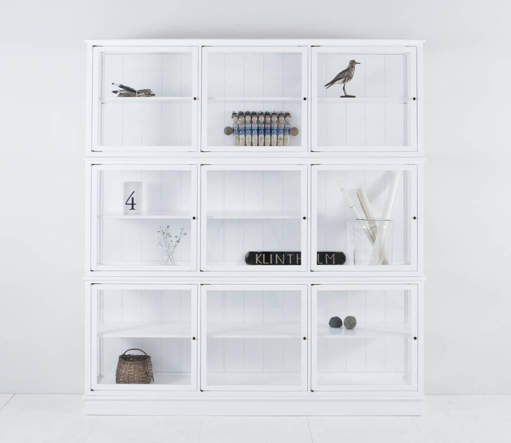 Oliver Furniture glasvitine groß weiß - www.romy-kindermoebel.de